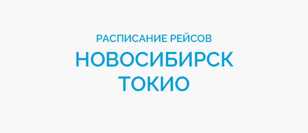 Расписание рейсов самолетов Новосибирск - Токио